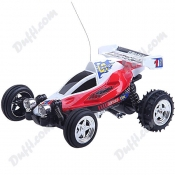 Remote Controlled Mini Racing Car with LED Stand FC-14426